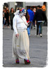 Looks like Snow White has let herself go! (The Stig 2009) Tags: thestig2009 thestig stig 2009 2017 tony o tonyo white snow hard times firenze florence tuscany italy statue mobile phone cigarette woman female candid street nikon fun