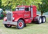 Old Pete (SemmyTrailer) Tags: peterbilt truck lorry tractor unit prime mover yarra glen victoria australia show rally classic restored