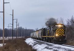 LAL - Avon (Wayside Railography) Tags: livonia avon avonlakevillerr lal alcos american locomotive works shortline csx new yor york rochester csxt barilla pasta c425 century