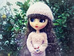 It's cold (Linayum) Tags: pullip pullipdita pullips vanilla junplanning doll dolls muñeca ganchillo handmade crochet linayum