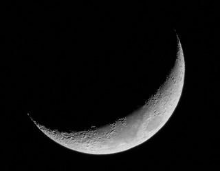 Tonight's Crescent Moon