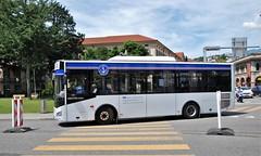 Lugano, Piazza Indipendenza 12.07.2012 (The STB) Tags: bus autobus autobús busse svizzera dieschweiz lasuisse publictransport citytransport öpnv