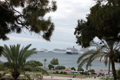 Kreuzfahrthafen Palma de Mallorca (Bastian Scholt) Tags: mittelmeer mallorca balearen urlaub palma palmademallorca hafen kreuzfahrthafen cruise kreuzfahrtschiffe