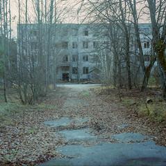 Below the Woodpecker, Ukraine 2017 (Sly Panda) Tags: chernobyl ukraine kiev 120film medium format ghost site area duga3 soviet secret woodpecker history coldwar carl zeiss praktisix biotar
