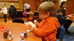 """Paul Making Crafts at the Nature Center • <a style=""""font-size:0.8em;"""" href=""""http://www.flickr.com/photos/109120354@N07/25519907348/"""" target=""""_blank"""">View on Flickr</a>"""
