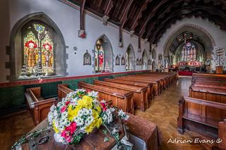 Christmas Church Flowers