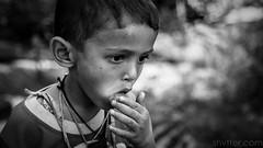 Hungry (#Weybridge Photographer) Tags: adobe lightroom canon eos dslr slr 5d mk ii mkii kathmandu nepal asia child boy hungry eat eating monochrome