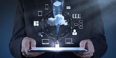Businessman working with a Cloud Computing diagram on the new computer interface (jimmydelarosa99) Tags: cloud concept business network virtual server information resources laptop white interface whiteboard plan success symbol internet infrastructure diagram pen flowchart drawing digital technology teaching idea computer modern support icon connection computing strategy workshop hand planing mobile sketch cell tracing education services online application wireless structure screen businessman communication 3d