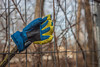 Howdy, 2018! - HFF! (suzanne~) Tags: fence friday munich germany glove greeting lost