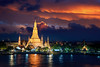 Wat Arun (anekphoto) Tags: bangkok wat arun thailand temple landmark travel asia twilight river night phraya background water city skyline tourism architecture sunset religion famous cityscape vacations buddhism southeast stupa beautiful religious holiday traditional culture ancient tower place boat oriental dusk attraction spirituality thai chedi prang silhouette reflection east church sunrise destinations shrine asian