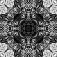1371425105 (michaelpeditto) Tags: art symmetry carpet tile design geometry computer generated black white pattern