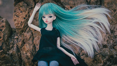 Sierra and the sea (Ilweranta) Tags: doll bjd abjd msd dim dollinmind laia dollleaves sea