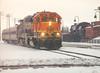 BNSF 2297 helping Amtrak in 2000 (Ray Tutaj Jr) Tags: bnsf mendota tutaj union depot railroad museum trains