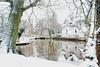 Reflektion (Frau D. aus D.) Tags: winter schnee snow delmenhorst germany deutschland landscape park landschaft niedersachsen wasser reflection reflektion