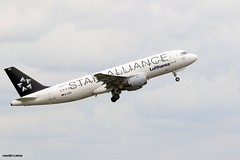 Star Alliance Lufthansa D-AIPD J78A1341 (M0JRA) Tags: star alliance lufthansa daipd birmingham airport planes flying runway jets aircraft rotate clouds sky terminal