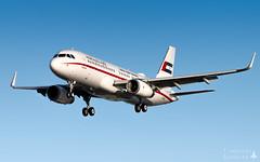 LBG | Sharjah Ruler's Flight Airbus A320CJ (Timothée Savouré) Tags: sharjah 001 airbus a320 a320cj a6shj amiri flight united arab emirates paris le bourget sharklets