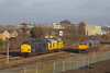 Couple of Tractors and a Shed (DieselDude321) Tags: 37607 97301 66756 66726 class 37 97 66 0z37 0930 hitchin down yard derby rtc hexthorpe doncaster south yorkshire hnrc harry needle railway company network rail gbrf