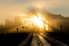Golden Rays (Jamesylittle) Tags: sun fog golden light morning sunrise early countryside
