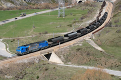 Villanueva de la Tercia (REGFA251013) Tags: comsa acciona tren train comboio carbon asturias castilla y leon la robla euro4000