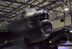 Nose gun turret, PO-S 'S for Sugar' (Snapshooter46) Tags: avrolancaster british nightbomber heavybomber secondworldwar nosegunturret pos sforsugar rafmuseum hendon london
