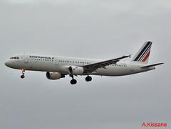 AIR FRANCE A321 F-GTAZ (Adrian.Kissane) Tags: airfrance a321 shannon fgtaz 4901 412018 airbus shannonairport landing plane french