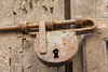 Rusy Padlock (Victoria Lea B) Tags: padlock neglect deterioration sicily italy lock corrosion cefalu rust door