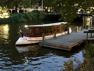 Amsterdam, a sweet little boat...