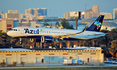 Azul Brasil A320 NEO @ FLL (Infinity & Beyond Photography) Tags: azul brasil airlines airbus a320 neo sharklets fortlauderdale city skyline airplane airliners fll planes aircraft