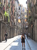 The streets of Gerona (Couldn't Call It Unexpected) Tags: gerona catalunya spain street girls ice cream shadows legs