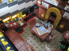 LEGO Ideas Tall Ship (sebeus) Tags: lego ideas pirate ship pirates interior captains quarters cabin