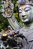 Contemplation (Ryan Jefferds) Tags: japan 2017 buddah statue nikon d5000 temple patina gold bokeh