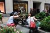 Getting their shots (ktmqi) Tags: newyorkcity manhattan rockefellercenter channelgarden fountain fifthavenue