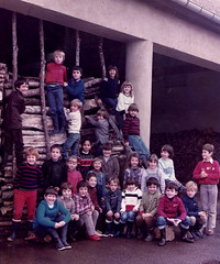 It was a yearly tradition (theirhistory) Tags: boy child kid girls wood timber store trousers jacket shoes wellies ladder boots class form school pupils students education