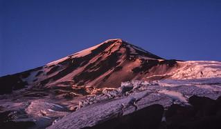 Volcán Lanín Amaneciendo