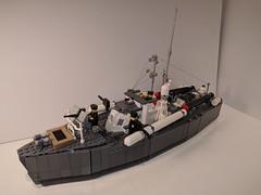 Vosper 70 MTB Main (stjean007) Tags: lego moc mtb royal navy vosper