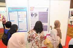 Participants during a poster session (International Conference on Health Sciences) Tags: international health sciences ichs 2017 yogyakarta indonesia eastparc universitas gadjah mada bpp ugm badan penerbit publikasi medicine medical research researcher speaker emerging reemerging infectious disease tropical neglected sexually transmitted drug resistance technology clinical presentation conference annual ichs2017
