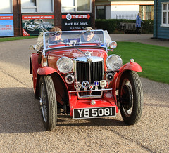 1935 MG PB YS 5081 (BIKEPILOT, Thx for + 4,000,000 views) Tags: 1935 mgpb ys5081 mg brooklandsautumnclassicbreakfast brooklands museum weybridge surrey uk britain motorcar automobile car vehicle transport classic vintage britishmotorindustry red sportscar