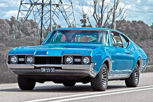 Oldsmobile Cutlass Holiday Coupé 1968 (2674)
