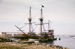 Mayflower II, Plymouth, Massechusetts (alunb) Tags: massechusetts mayflower newengland pilgrimfathers sailing ship