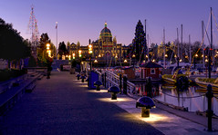 Victoria Inner Harbour at Christmas 2017 (Gord McKenna) Tags: gordmckenna gord mckenna panorama pano stitch victoria christmas xmas bc british columbia canada flickr explore