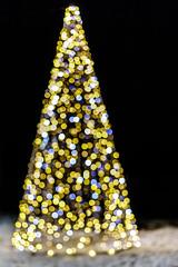 Illuminations de Noël (Patatitphoto) Tags: tree christmas noël nuit night bokeh sapin lumière light illuminations toulouse street photography santaclaus festive ornement natale city winter