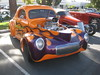 1941 WILLYS CUSTOM COUPE with hand painted flames. (goldiesguy) Tags: goldiesguy automobile auto automobiles antique cars car classic classics willys custom vehicles vehicle privatecollection old museumcars coupe