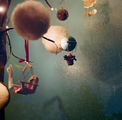 Fly by night 🌟 (Wayman P. Jones) Tags: doubleexposure kodakportra400 portra400 nightphoto longexposure filmphotography twinslensreflex mamiya startrails imaginarymagnitude