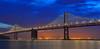 Dynamic Stillness (khanhky) Tags: baylight baybridge