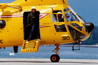 Canadian Armed Forces CH-113 Flight Crew