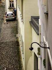 Luce. Bamberga (diegoavanzi) Tags: bamberga bamberg baviera bayern germania germany deutscheland old town città vecchia sony hx300 bridge lampione