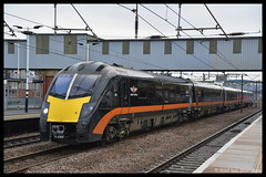 No 180101 20th Dec 2017 Peterborough (Ian Sharman 1963) Tags: no 180101 20th dec 2017 peterborough class 180 dmu diesel multiple unit grand central services service london kings cross ecml east coast mainline bradford sunderland