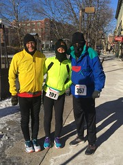 This is how you run in -14 windchill!