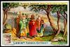 Liebig Tradecard S997 - Procession of Crusaders to the Olberg Church (cigcardpix) Tags: tradecards advertising ephemera vintage liebig chromo