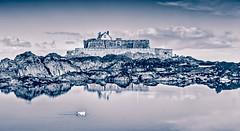 Un air de banquise (Briren22) Tags: saintmalo fort défense mer littoral bleu